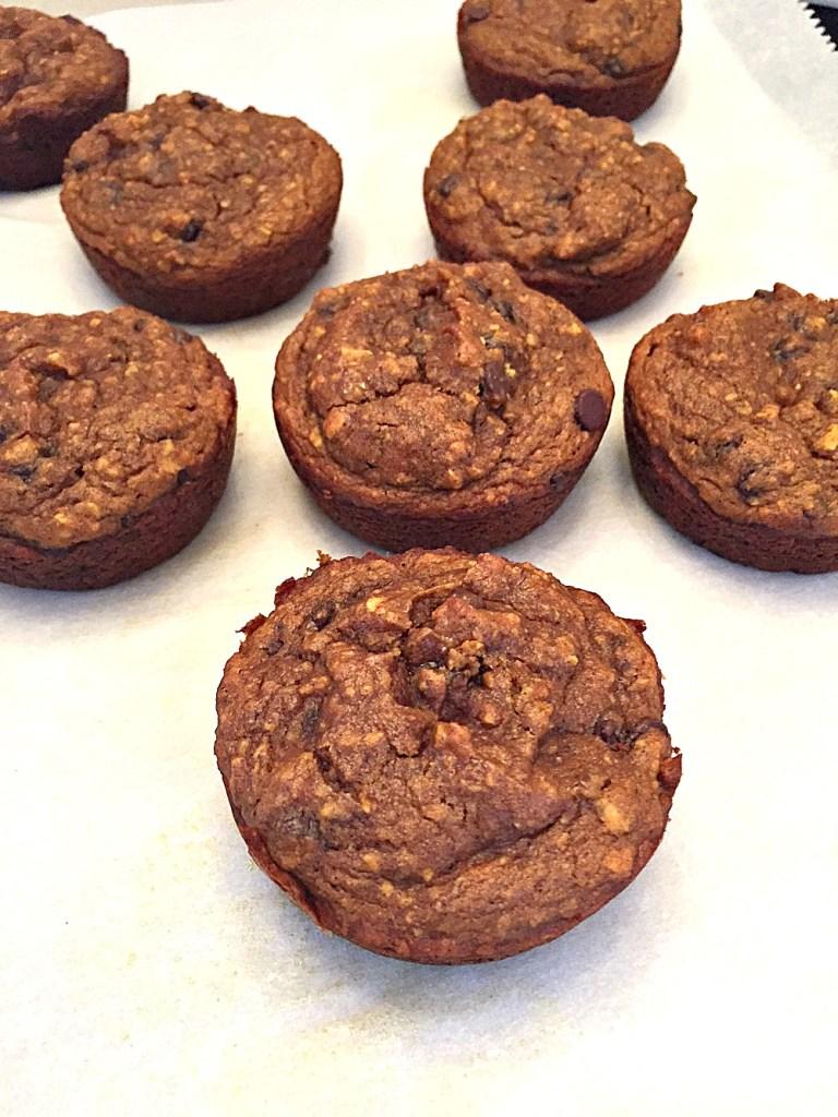 GF pumpkin oat muffins 3