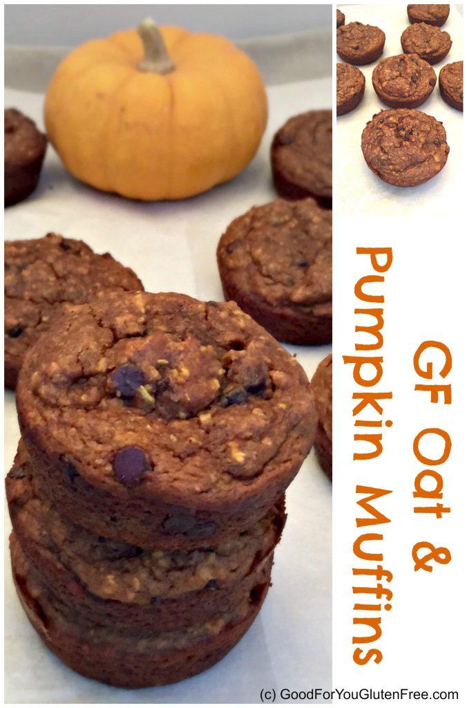 GF pumpkin oat muffins 4