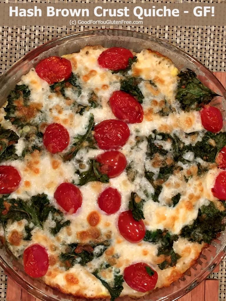 Kale Hash Brown Quiche 3