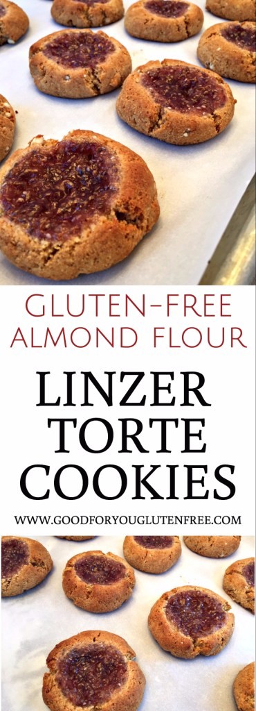 Gluten-Free Almond Flour Linzer Torte Cookies - Good For You Gluten Free