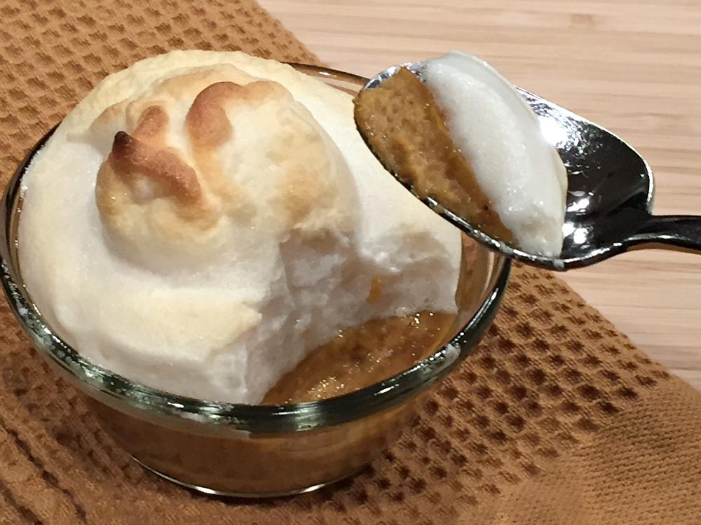 Gluten-Free Mini Pumpkin Pie Souffles