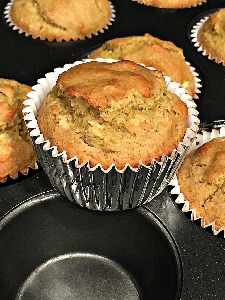 Gluten Free Moist Banana Muffins 1a