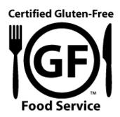 Certified Gluten Free GIG Food Service logo