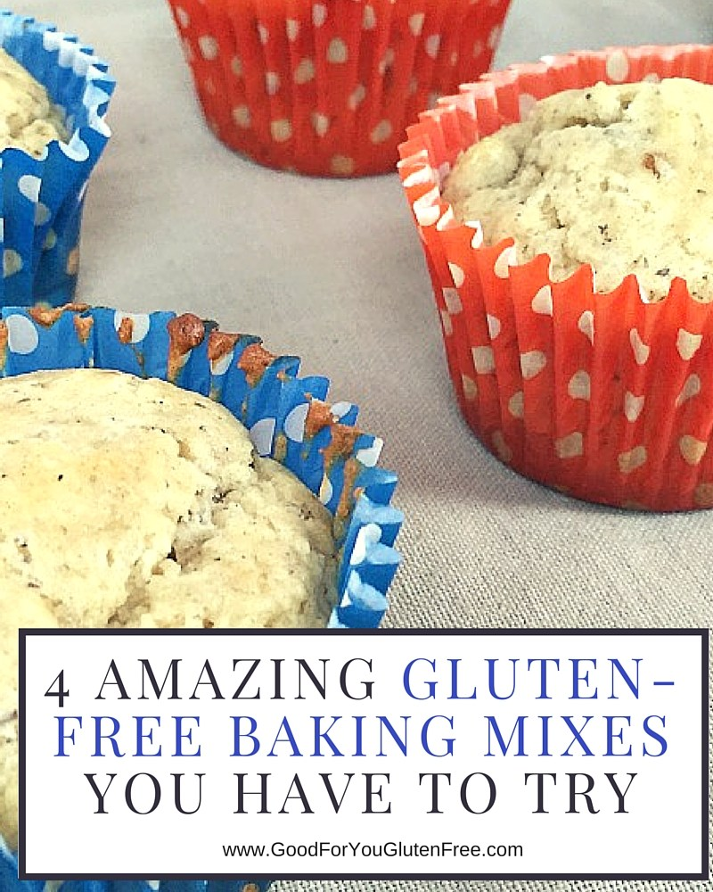 4 Amazing Gluten Free Baking Mixes You Have to Try