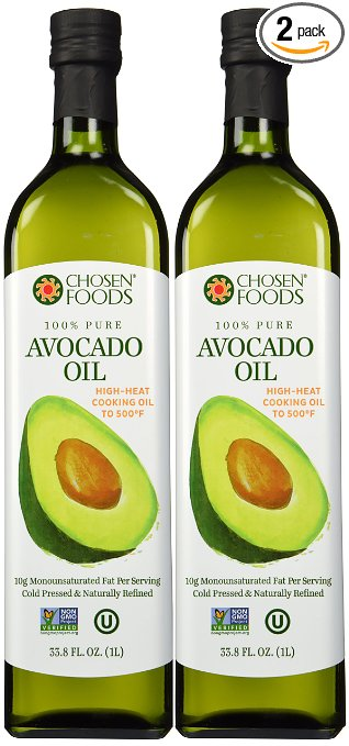 Gluten-Free Cooking Oils: Chosen Food avocado oil