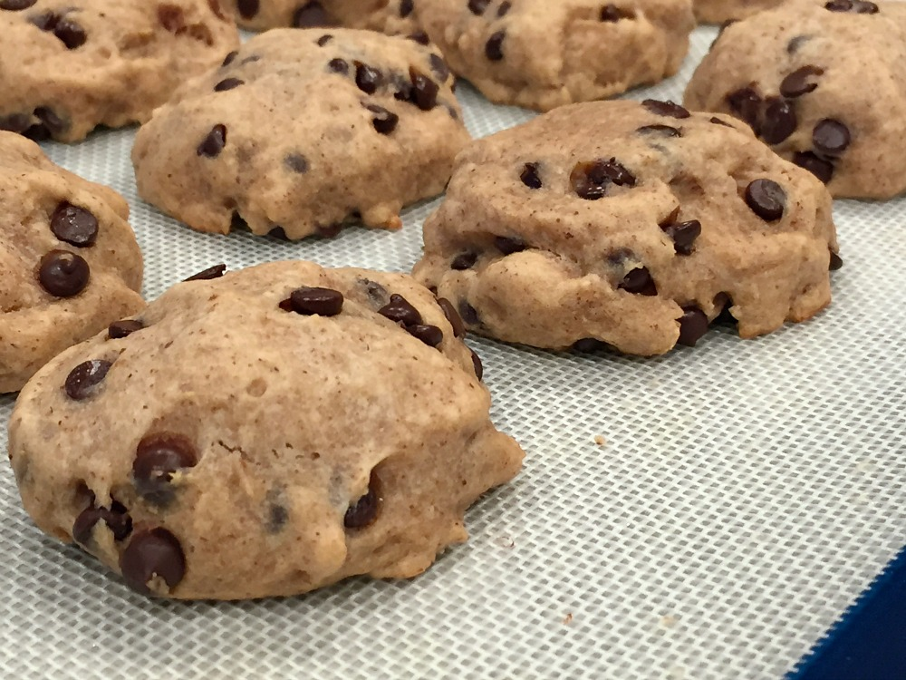 GF Chocolate Chip Cookies with Almond Butter 2