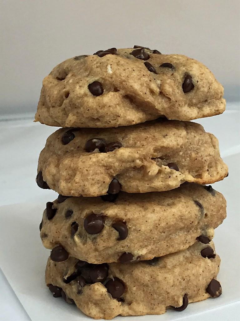 Gluten-Free Almond Butter Chocolate Chip Cookies 1