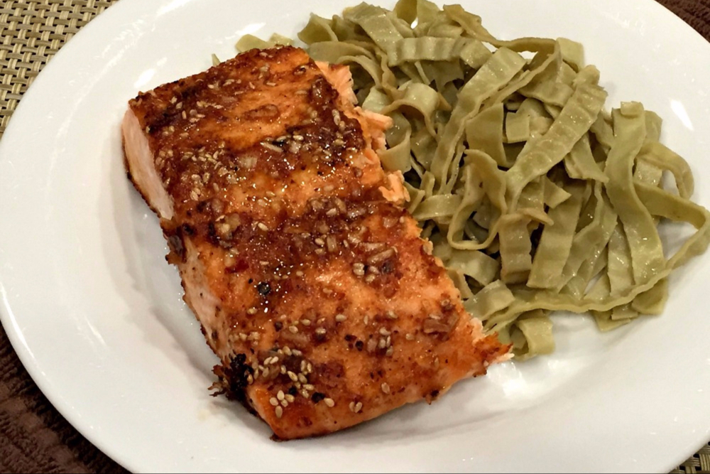 Try this Elegant Salmon Recipe at Your Next GF Dinner Party