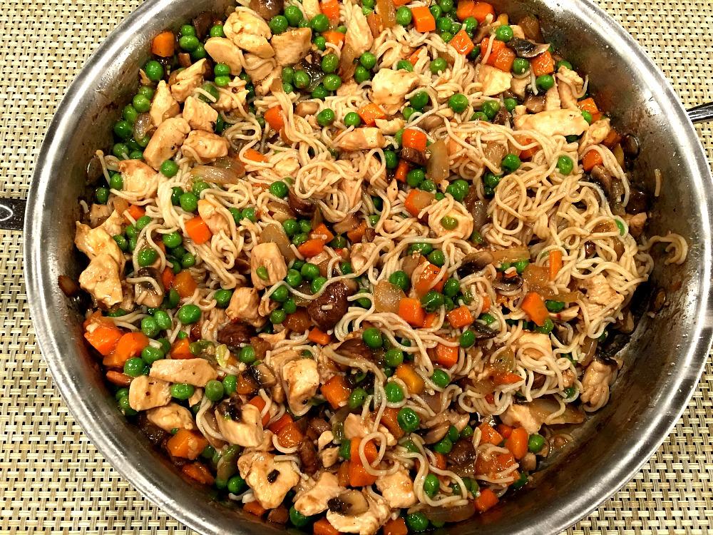 Gluten-Free Chicken Lo Mein Noodles