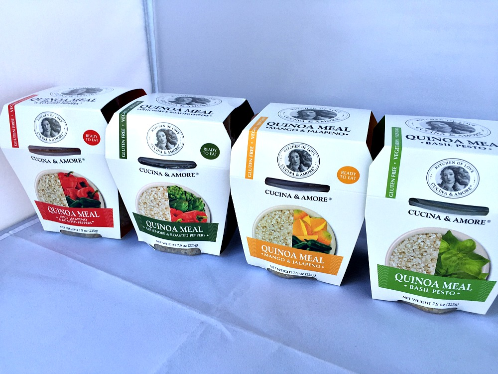 Nothing but Love for Cucina & Amore's Gluten Free Quinoa Meals