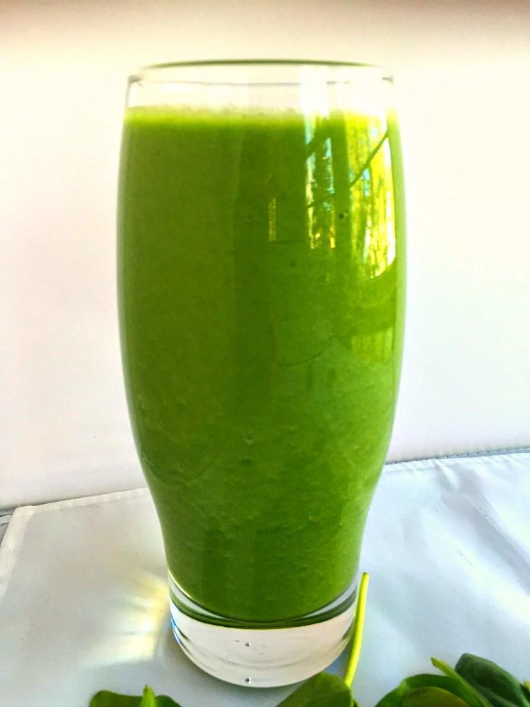 Sea salt green smoothie 2