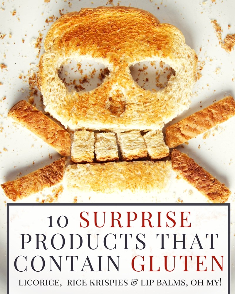 10 Surprise Products that Contain Gluten