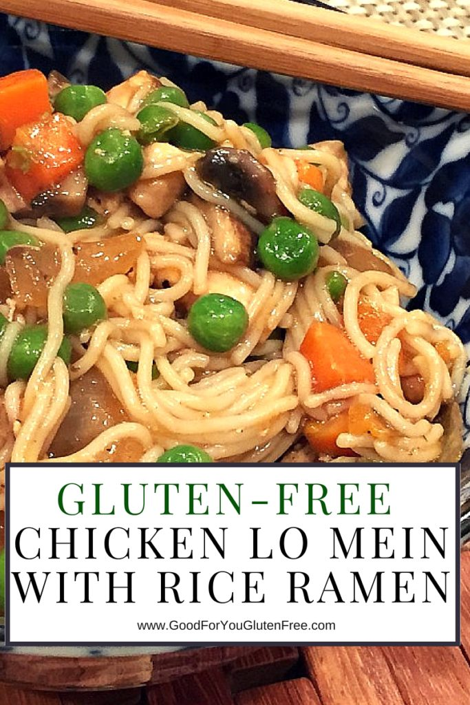 Gluten-Free Chicken Lo Mein Noodles - Recipe by Good For You Gluten Free