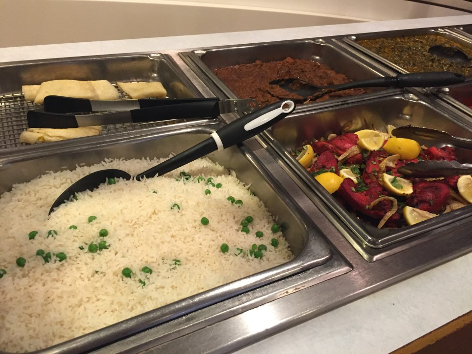 Bombay Clay Oven lunch buffet