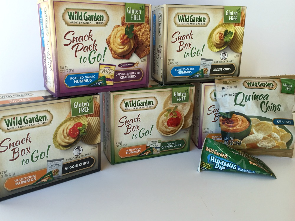 Enter to Win $50 in Wild Garden Hummus Products!