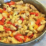 Artichoke Chicken Stir Fry 3