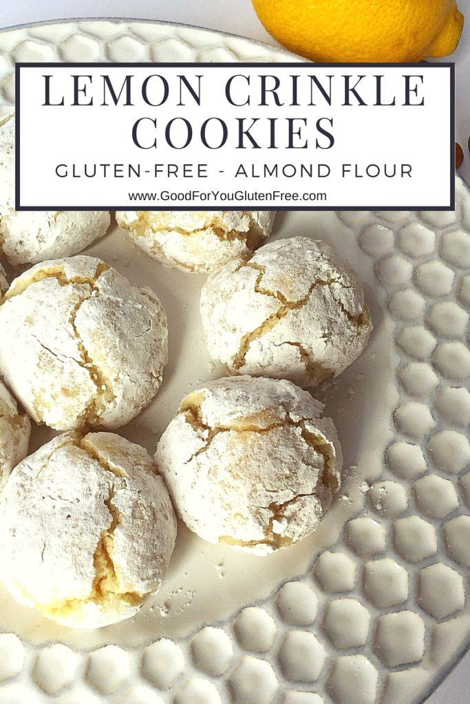 Gluten-Free Lemon Crinkle Cookies Graphic