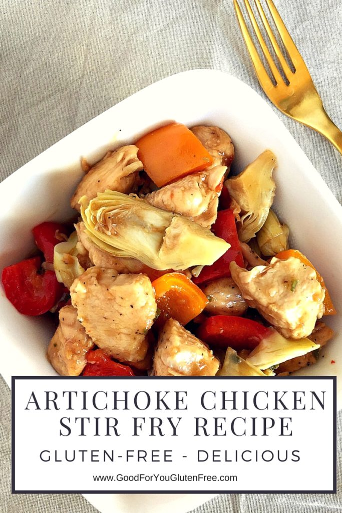 Gluten-Free Artichoke Chicken Stir Fry Recipe