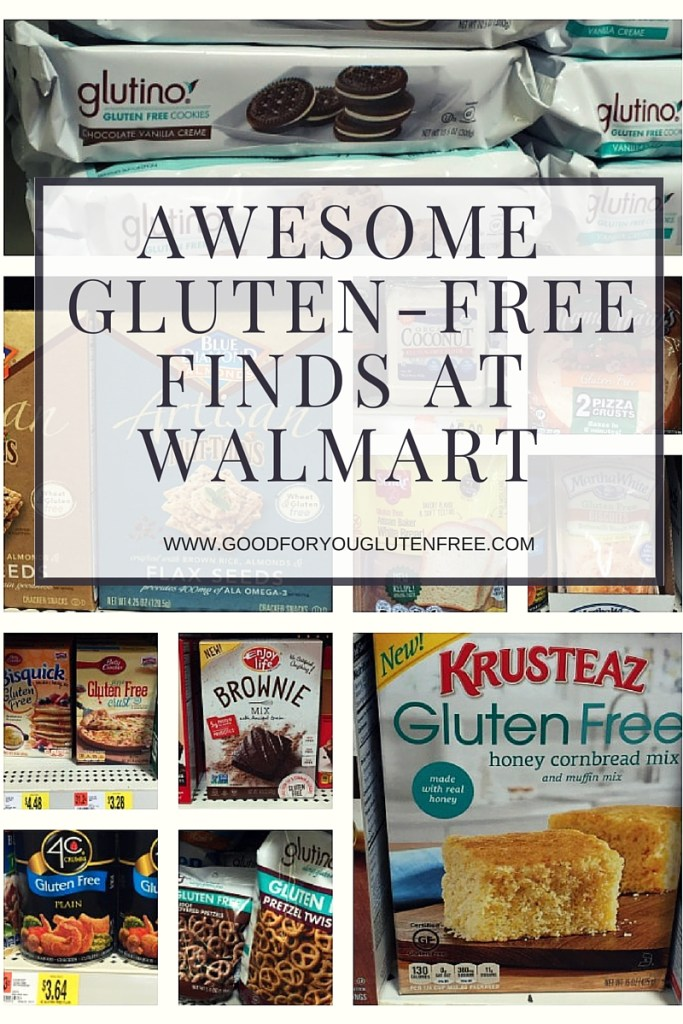Awesome Gluten-Free Finds at Walmart