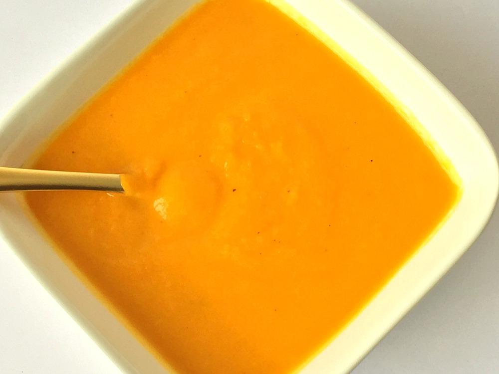 Carrot Cauliflower Soup 1