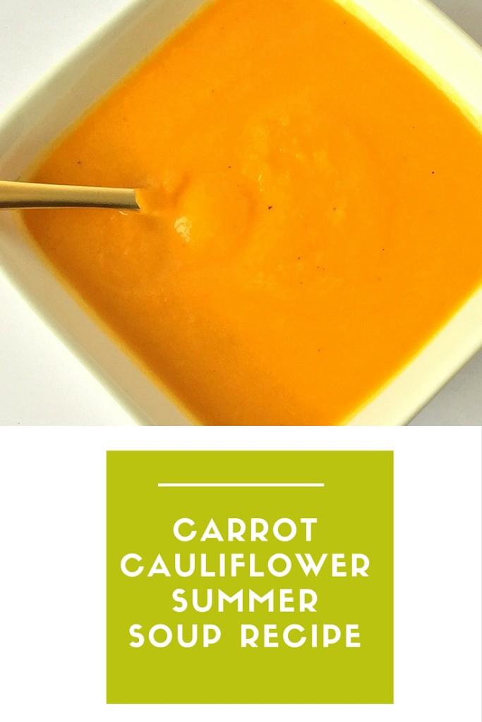 Carrot Cauliflower Soup Recipe Pinterest