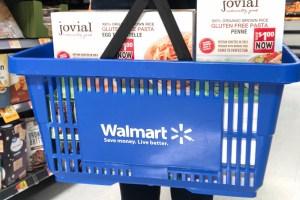What's gluten free at Walmart header