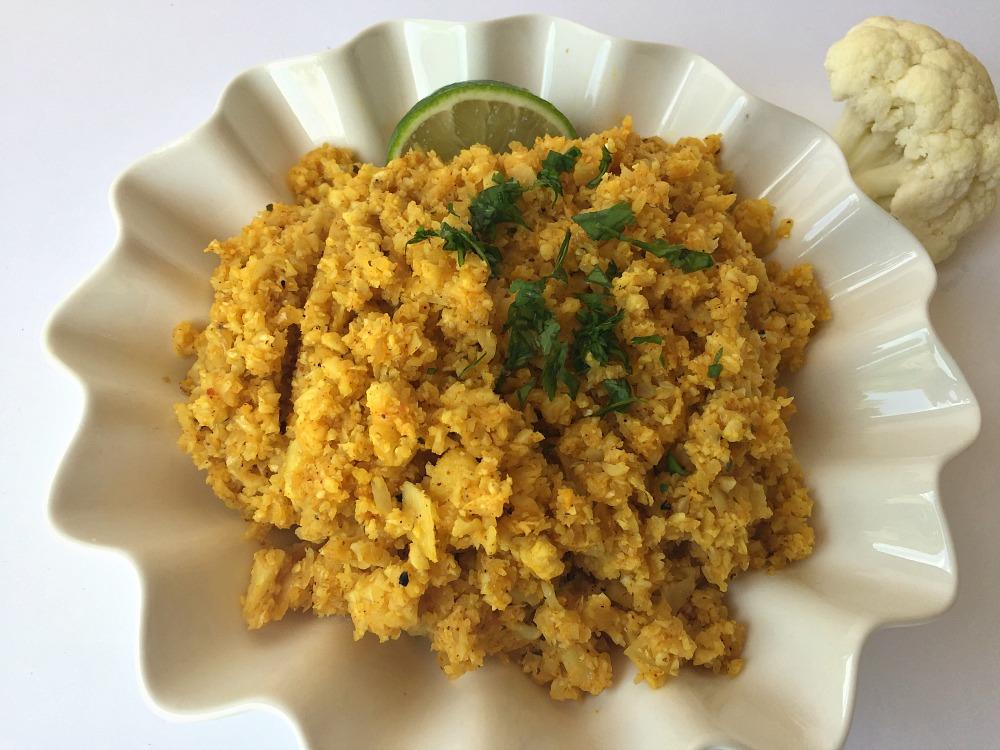 Chili Lime Cauliflower Rice 1