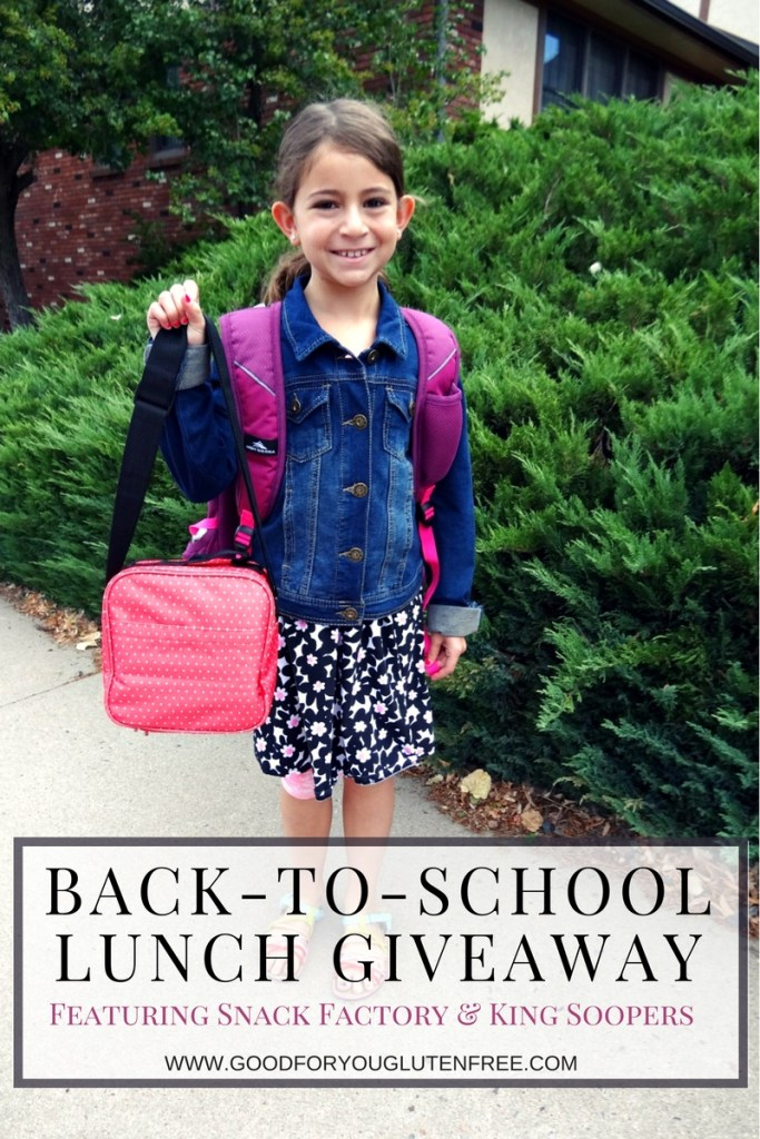 Back-to-school giveaway with Snack Factory and King Soopers
