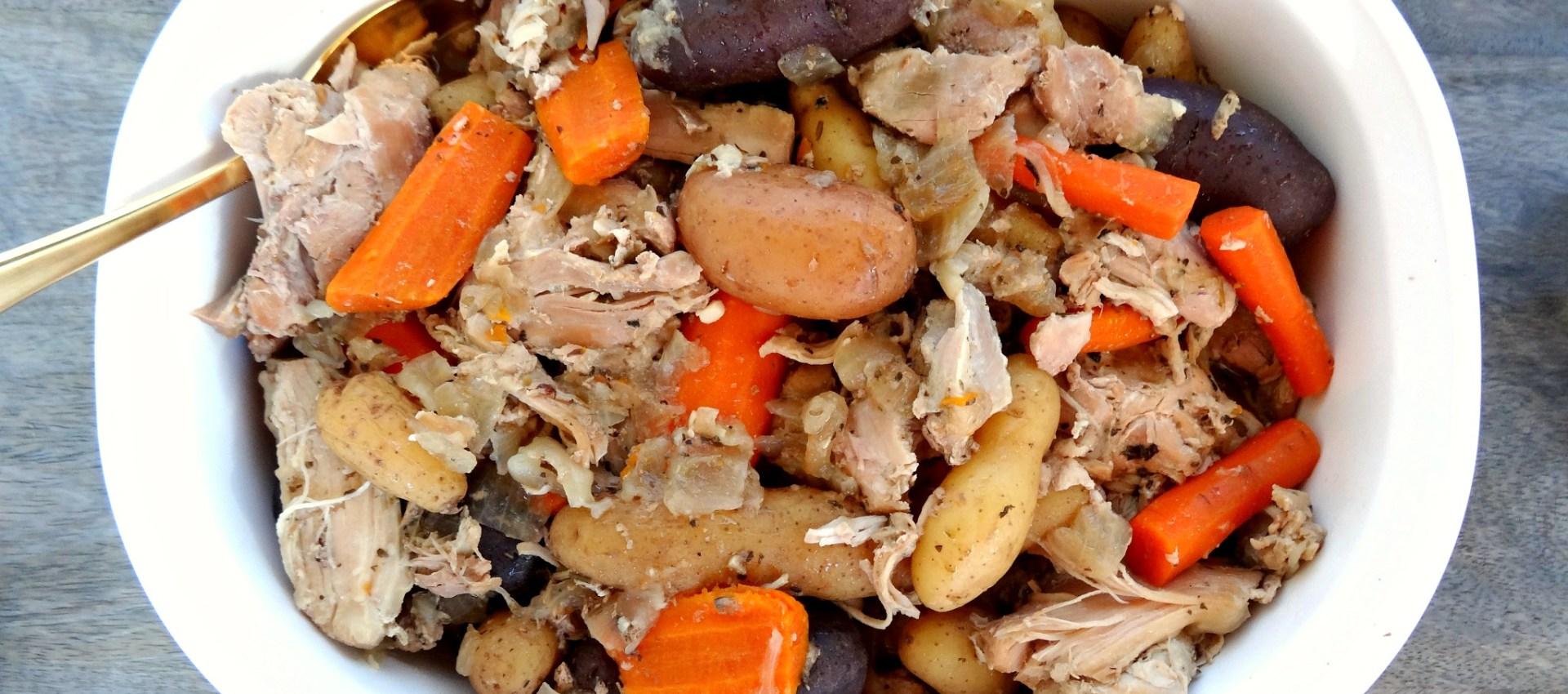 Slow Cooker Gluten-free Chicken Thighs Stew