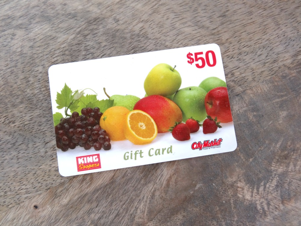 King Soopers Gift Card Giveaway