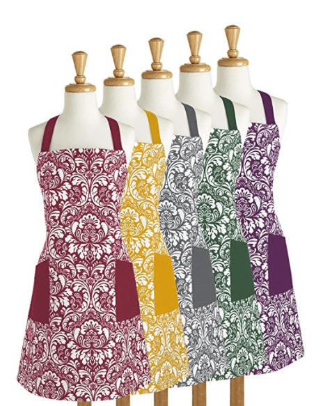 retro kitchen aprons