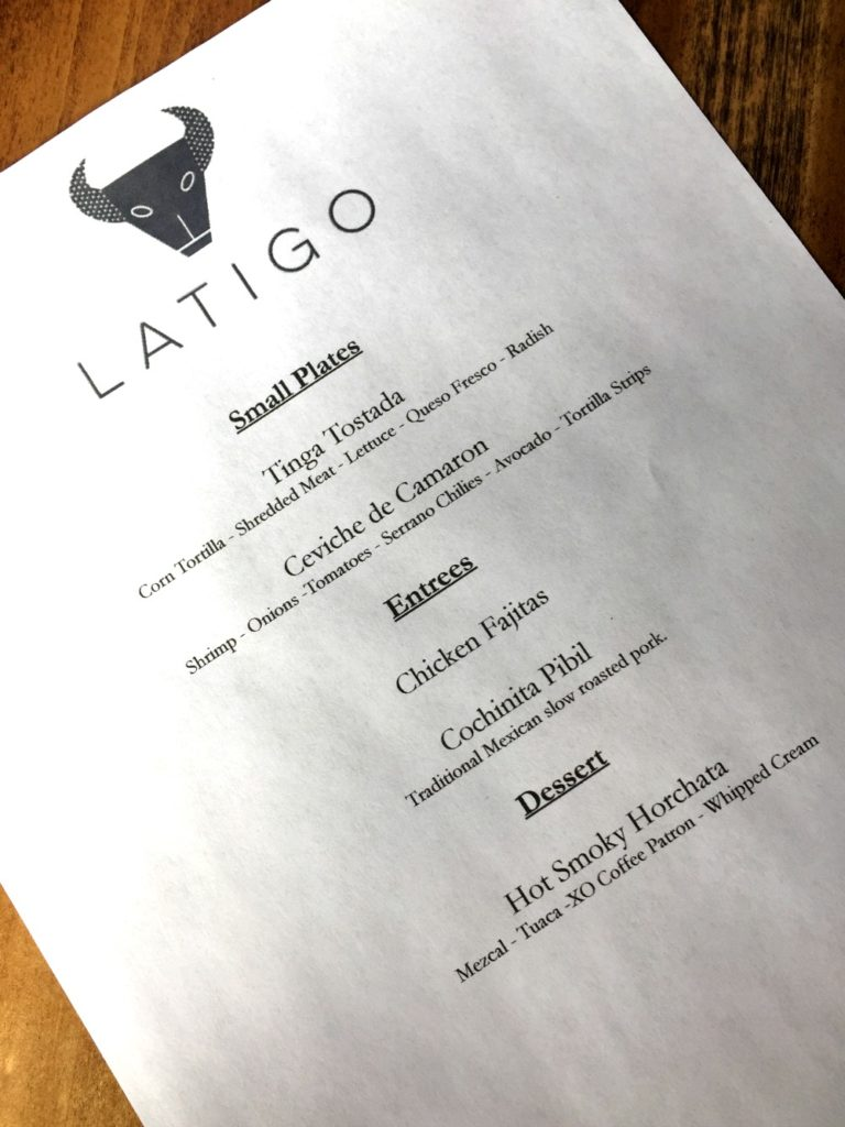 Latigo Gluten-Free Mexican Denver 1
