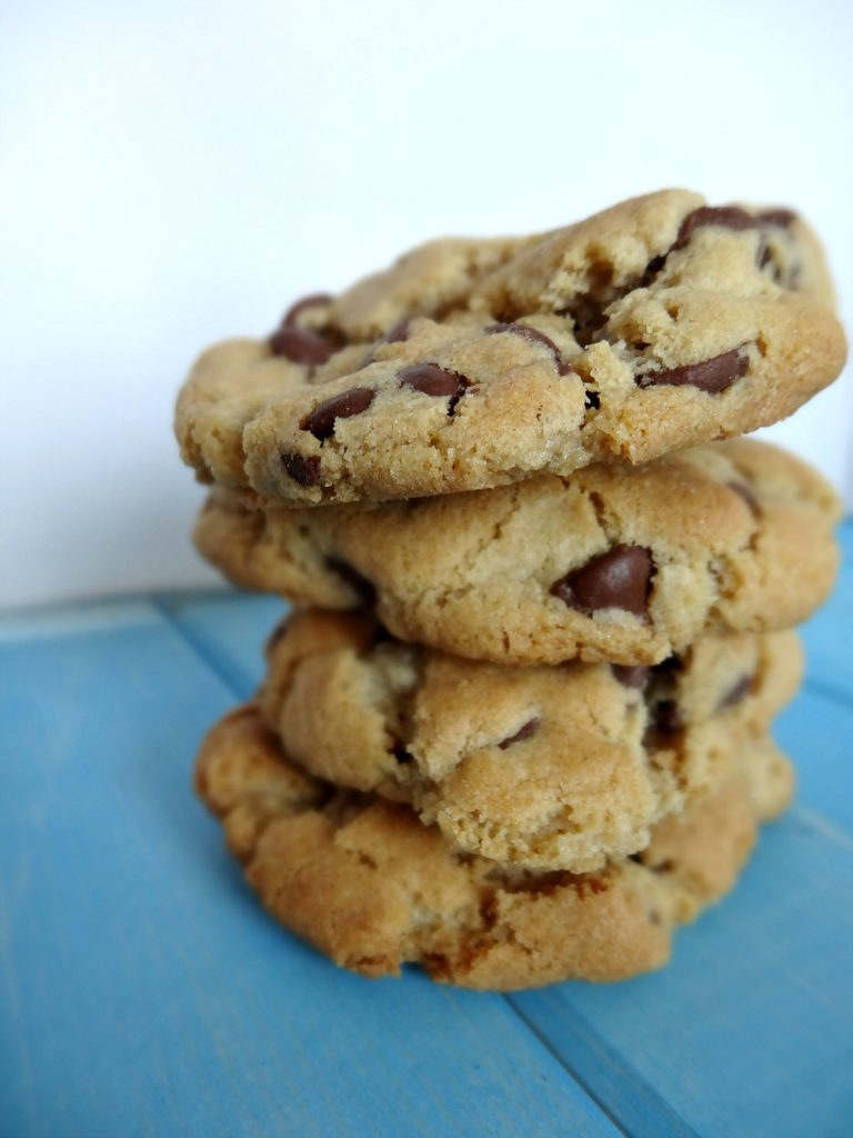 Good Old Fashioned Gluten-Free Chocolate Chip Cookies