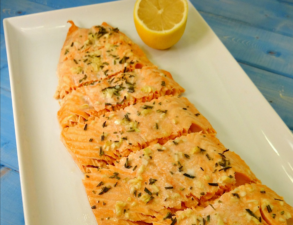 Garlic Herb Salmon1