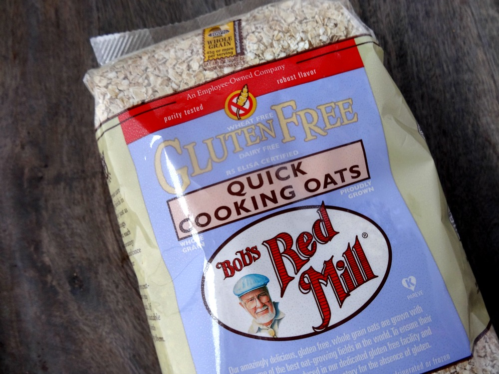 Gluten-Free Oats - high fiber foods
