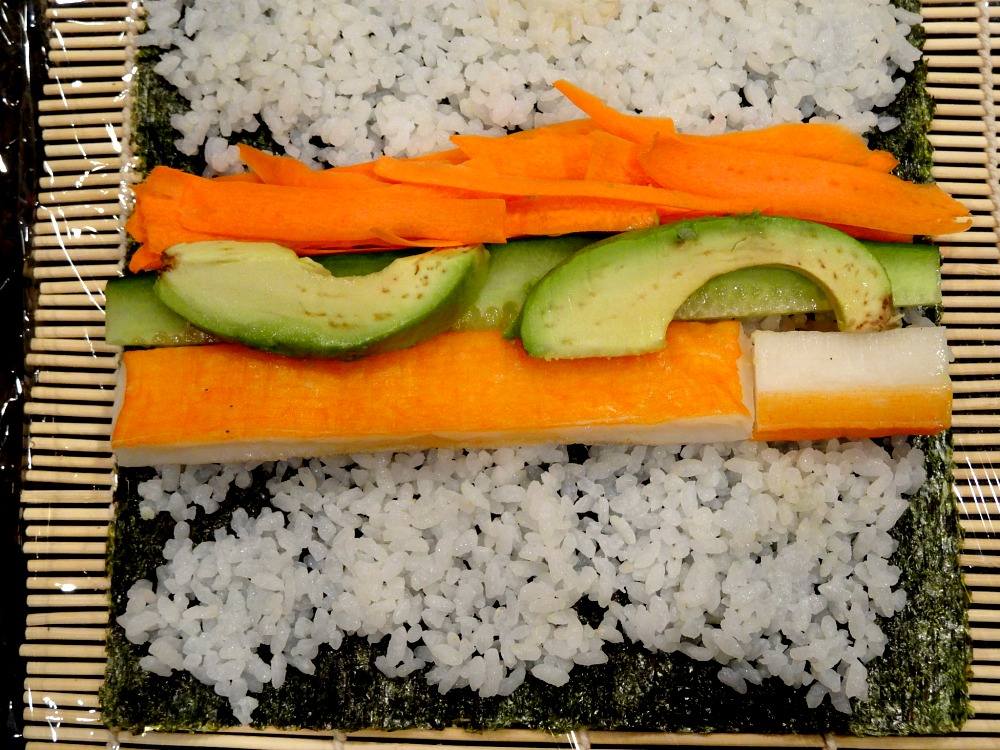 Open California Roll