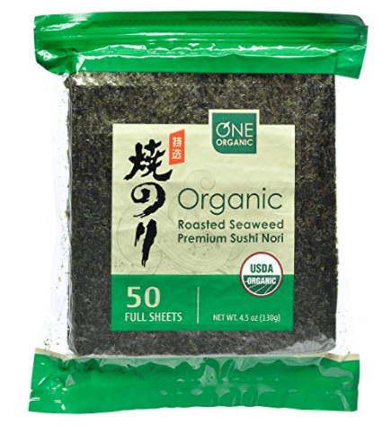 One Organic Seaweed sheets