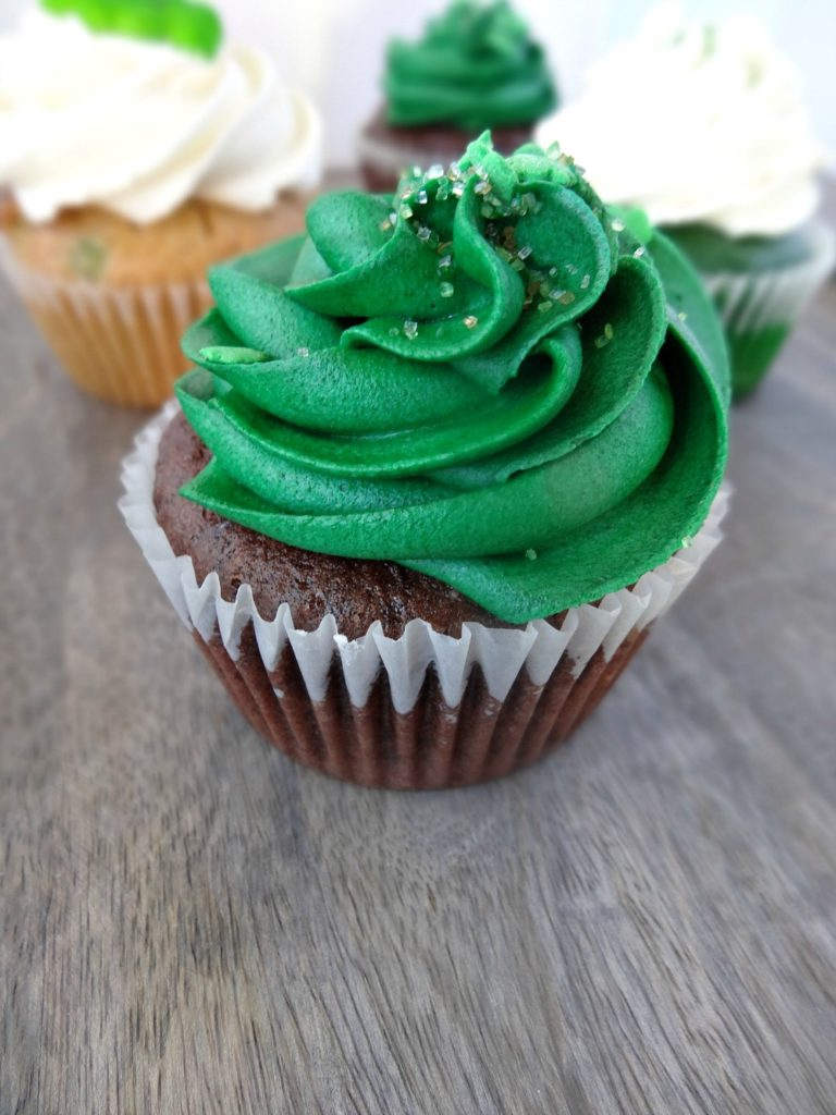 Gluten-Free Irish Cream Cupcake