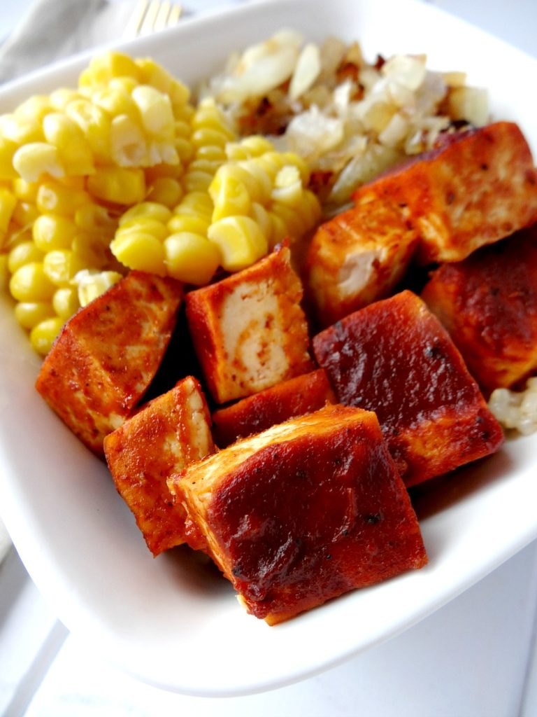 Gluten-Free BBQ Tofu Bowl 2