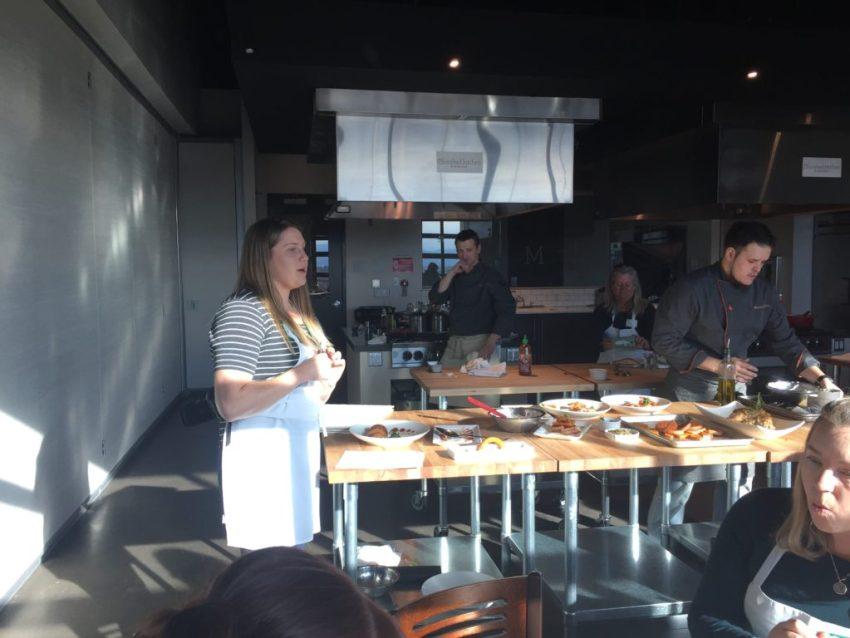Rachel Nichols presenting
