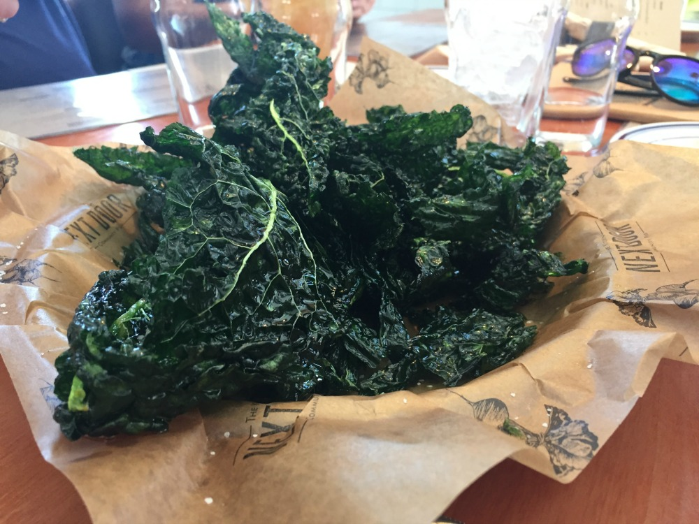 Kale Chips at Next Door