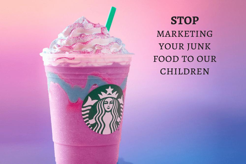 Starbucks' Unicorn Frappuccino Undeniably Marketed to Children