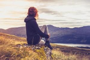 Woman making peace with celiac disease