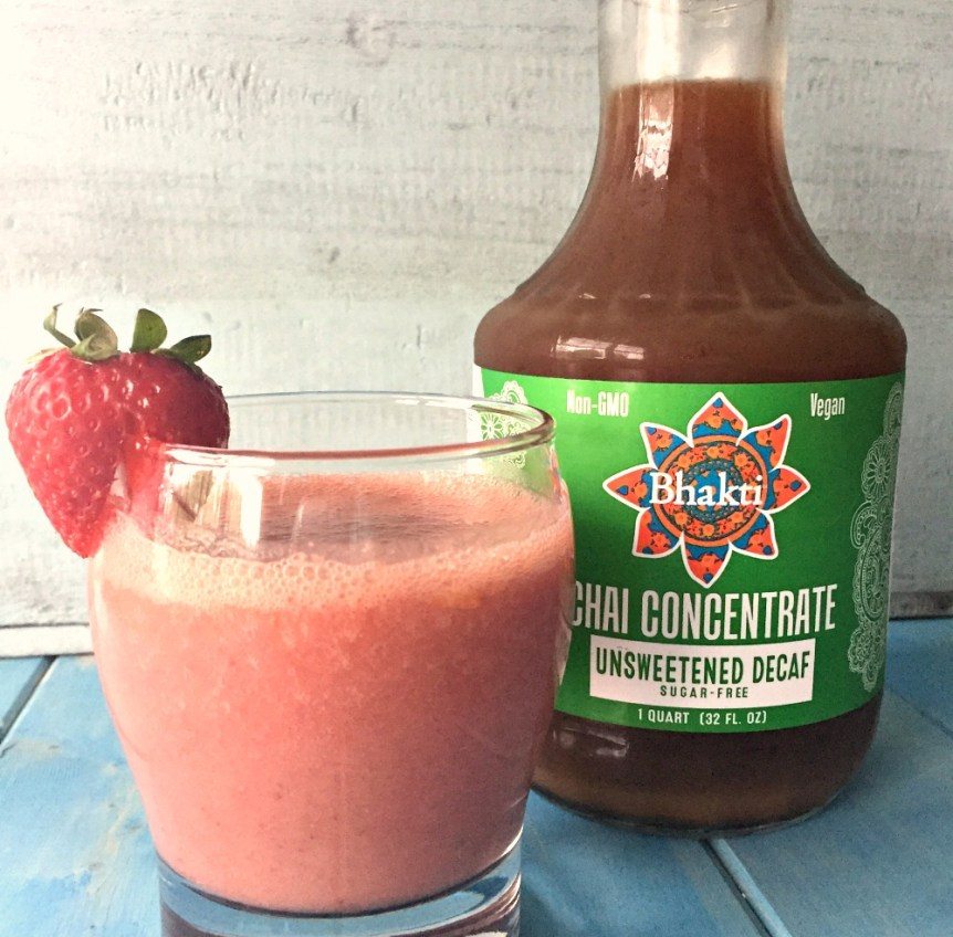 Chai Fruit Smoothie 1