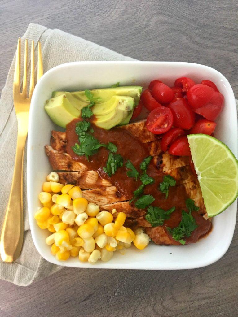 Fresh Tex Mex Enchilada Bowls 1