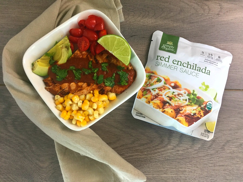 Fresh Tex Mex Enchilada Bowls 2
