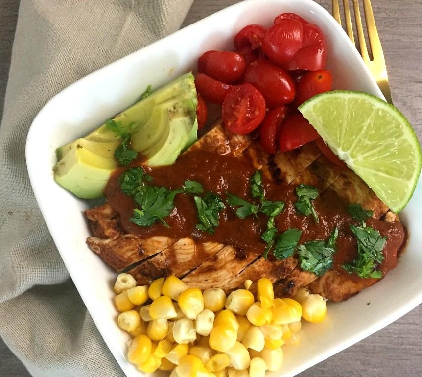Fresh Tex Mex Chicken Enchilada Bowls 5
