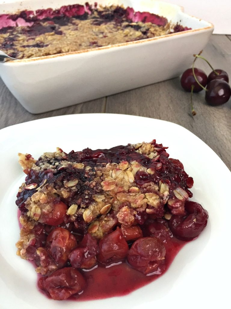 Tart Cherry Crisp - Good For You Gluten Free 2