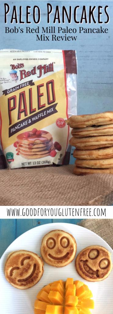 Bob's Red Mill Paleo Pancake & Waffle Mix Pin - Good For You Gluten Free - Paleo Pancakes