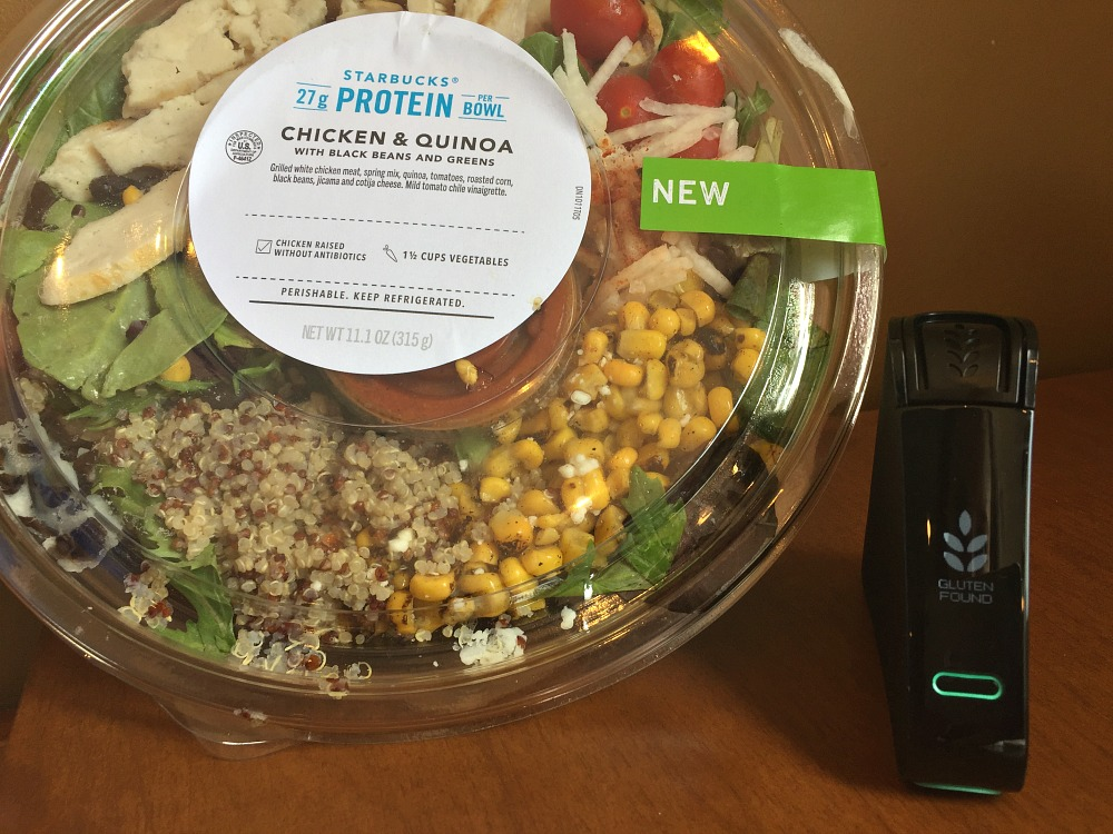 Starbucks Protein Chicken and Quinoa Bowl - Not Gluten-Free at Starbucks